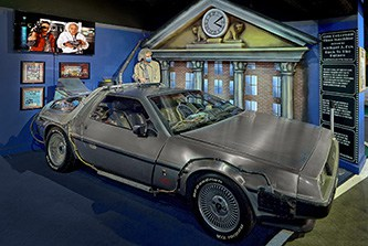 back to the future star cars