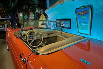 beach boys car interior