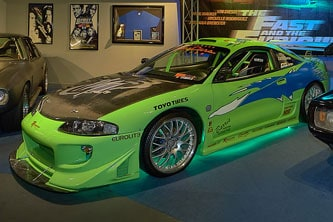 fast and furious lime car