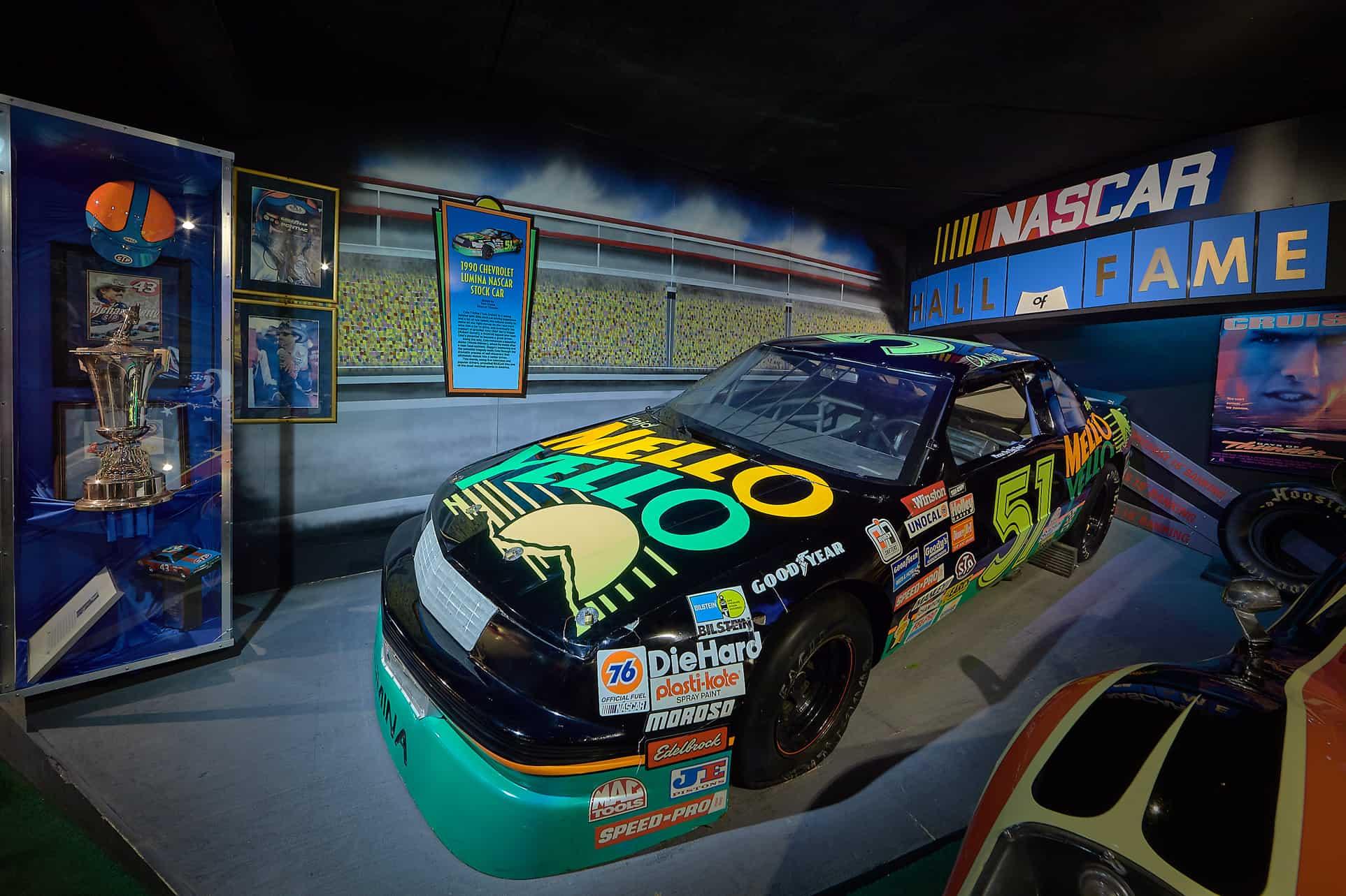 NASCAR mello yello