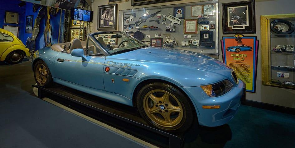Goldeneye BMW Z3